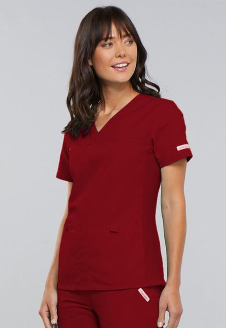 99d46c9d7956 Zdravotnické oblečení - Dámske blúzy - 2968-REDB - 4