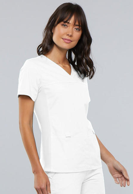 30efa388e5d9 Zdravotnické oblečení - Dámske blúzy - 2968-WHTS - 4