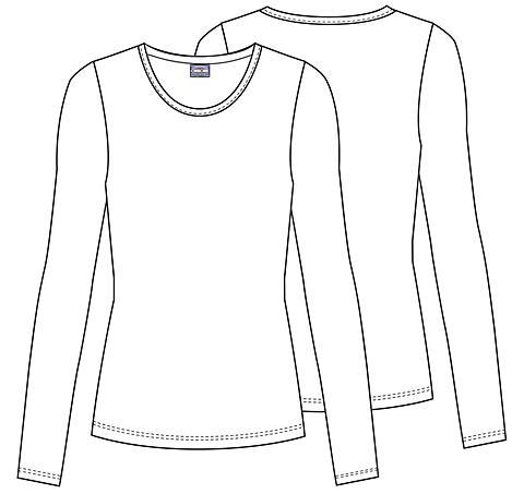Zdravotnické oblečení - Dámske blúzy - 4881-WHTW - 6 6e05d423a9