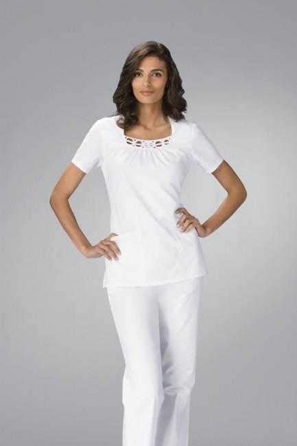 604f46d6cd2f Zdravotnické oblečení - Dámske blúzy - 2751-WHTS - 1