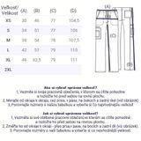 Zdravotnické oblečení - Pánske nohavice - 4043-CARW - 4
