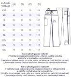 Zdravotnické oblečení - Pánske nohavice - 4100-RASW - 6