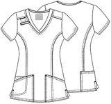 Zdravotnické oblečení - Blúzy - 4710-TRQW - 5