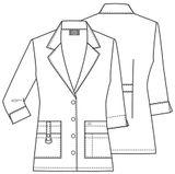 Zdravotnické oblečení - Plášte - 82402-DWHZ - 5