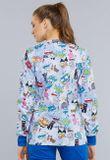 Zdravotnické oblečení - Dámske blúzy - CK301-TYPW - 3