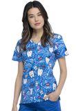 Zdravotnické oblečení - Dámske blúzy - CK614-BITH - 2