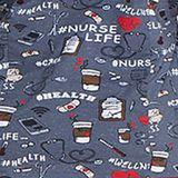 Zdravotnické oblečení - Dámske blúzy - DK306-NULF - 4