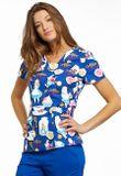 Zdravotnické oblečení - Dámske blúzy - TF641-ALWA - 3