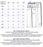 Zdravotnické oblečení - Dámske nohavice - WW130-REDW - 4