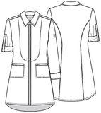 Zdravotnické oblečení - Zdravotnícke plášte - 1401A-WTPS - 6