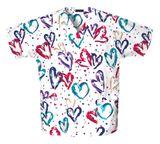 Zdravotnické oblečení - Blúzy s potlačou - 759-HRTB - 5