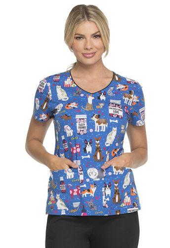 Zdravotnické oblečení - Dámske blúzy - DK700-UNLV