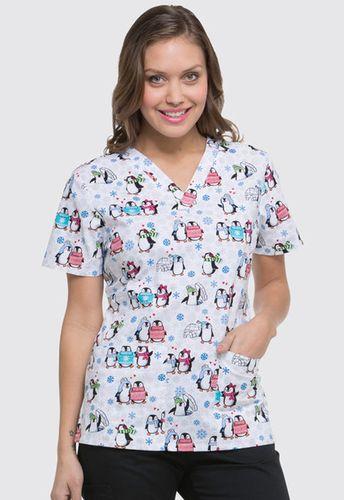 Zdravotnické oblečení - Dámske blúzy - DK704-SHTR