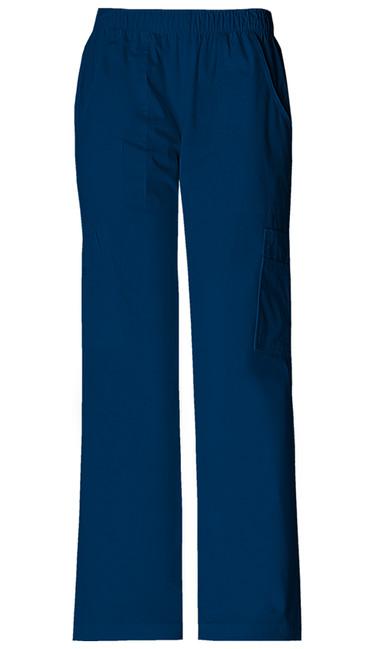 93ca935aae0 Dámské sportovní kalhoty s gumou v pase - námořnická modrá. Zdravotnické  oblečení - Nohavice - 4005-NAVW Zobrazit v plné velikosti