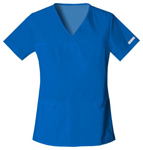 362ff46f8b2 Elegantní dámská halena - královská modrá. Zdravotnické oblečení - Dámske  blúzy - 2968-RYLB Zobrazit v plné velikosti