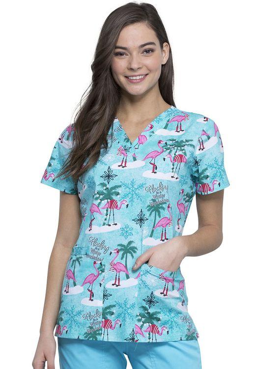 Zdravotnické oblečení - Dámske blúzy - CK616-WIFA