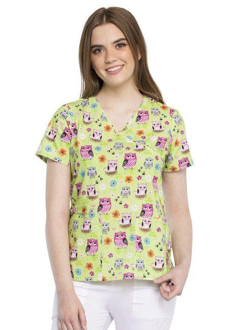 Zdravotnické oblečení - Dámske blúzy - CK614-FEAT