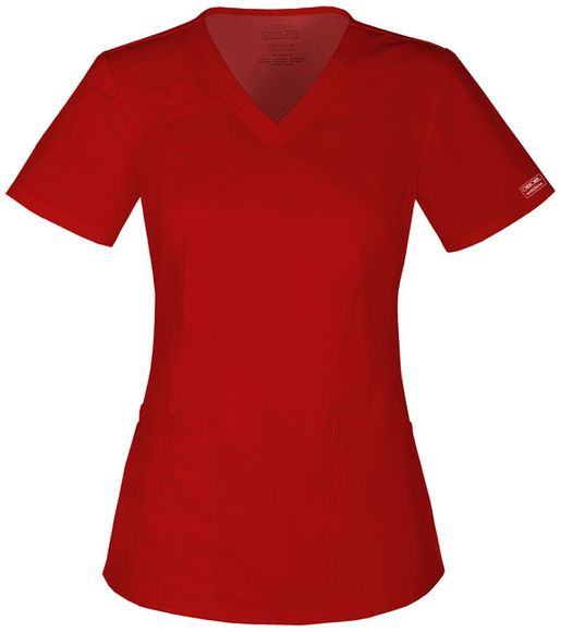 Zdravotnické oblečení - Blúzy - 4710-REDW