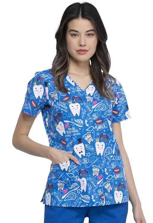 Zdravotnické oblečení - Dámske blúzy - CK614-BITH