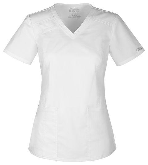 Zdravotnické oblečení - Blúzy - 4710-WHTW