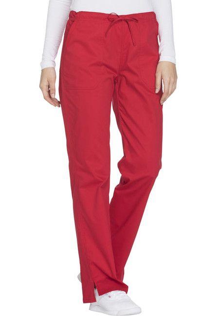 Zdravotnické oblečení - Dámske nohavice - WW130-REDW
