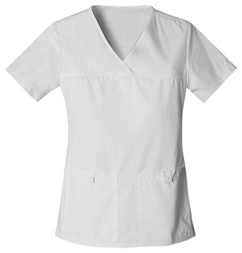 Zdravotnické oblečení - Dámske blúzy - 2968-WHTS