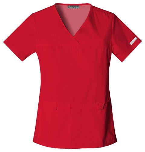 Zdravotnické oblečení - Dámske blúzy - 2968-REDB