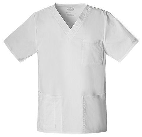 Zdravotnické oblečení - Dámske blúzy - 4725-WHTW