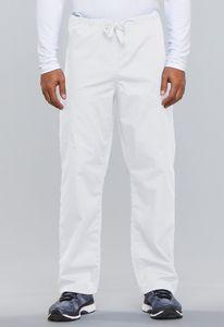 Šněrovací kalhoty - bílá