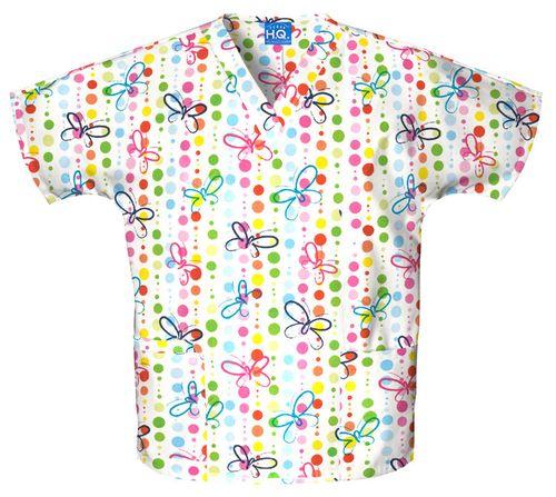 Zdravotnické oblečení - Blúzy s potlačou - 4700-BUDO